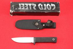 COLD STEEL STAINLESS MASTER HUNTER 36JS FIXED BLADE KNIFE WI