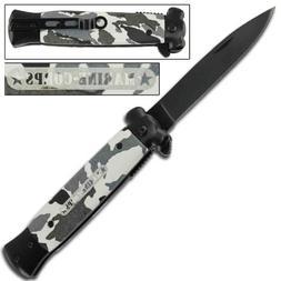 Striker Marine Artic Camo Tactical Pocket Knife
