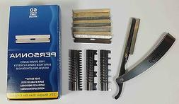 New Stylish Straight Barber Edge Steel Razor Folding Shaving