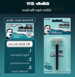 Gillette Super Blue Shaving <font><b>Razor</b></font> For Me