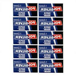 Super Iridium Double Edge Razor Blades 50 Pack by Polsilver