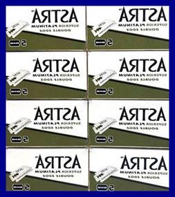 Astra Superior Platinum Double Edge Safety Razor Blades 40 5