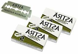 Astra Superior Premium Platinum Double Edge Safety Razor Bla