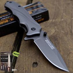 """6"""" Tac-Force Spring Assisted Knife - Open Blade Folding Pock"""