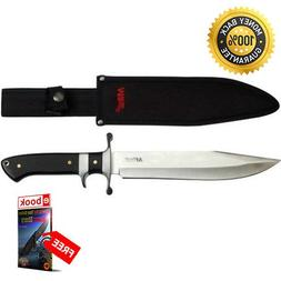 Moon Tactical M tech 20-04 USA Satin 8.5'' Drop Point Fixed