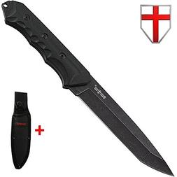 Tanto Tactical Knife Fixed Blade - Stainless Steel Tanto Swo