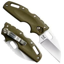 "Cold Steel Tuff Lite Plain 2 1/2"" Blade 6"" Overall-OD Green"