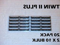 Personna Twin Pivot Plus Blades- 50 Cartridges