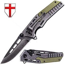 USMC pocket knife — EDC Tourist Tactical Folding Knife Sta