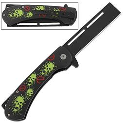 No Zombie Hordes Folding Pocket Razor Knife